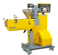 Single Screw extruder with 25 and 30 mm diamters