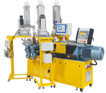 twin screw extruder with 48L/D